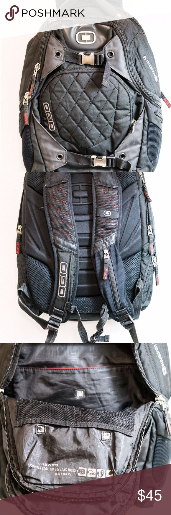 USED OGIO Sleek Backpack For sale is a used OGIO Backpack. Has a spot for laptop, tablet, iPhone, and sunglasses. Plenty of storage in these quality bags!! OGIO Bags Backpacks