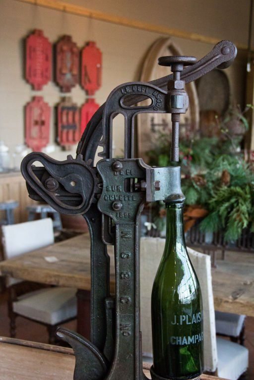 Antique French WIne Corker | From a unique collection of antique and modern more furniture and collectibles at https://www.1stdibs.com/furniture/more-furniture-collectibles/more-furniture-collectibles/