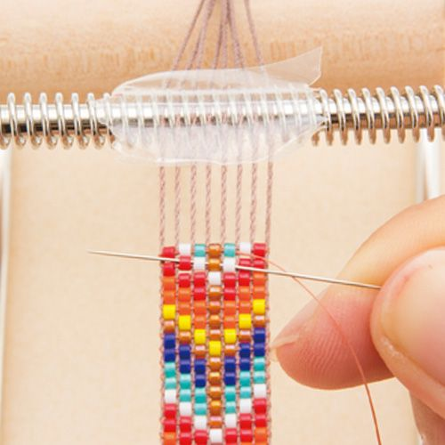 ビーズ織り機(H907)の使い方                                                                                                                                                                                 もっと見る