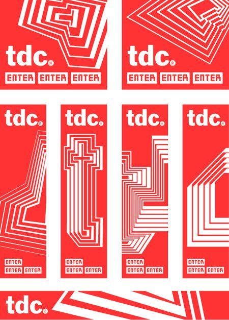 TDC (Type Directors Club) : by Paula Scher, Pentagram