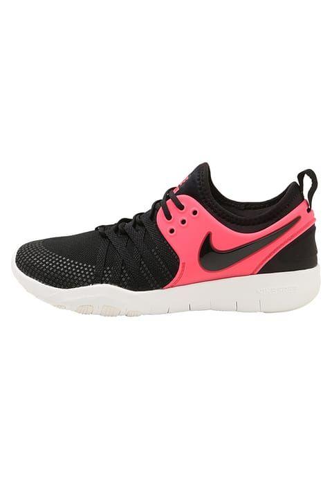 Nike Performance FREE TR 7 - Obuwie treningowe - black/solar red/summit white