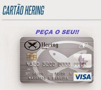 Peça seu Cartão Hering Store pela internet - http://www.2viacartao.com/2015/04/cartao-hering-store-como-pedir-pela-internet.html