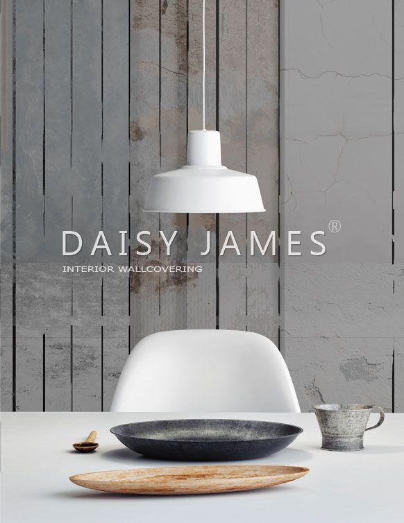 DAISY JAMES wallcover The Wooden Wall