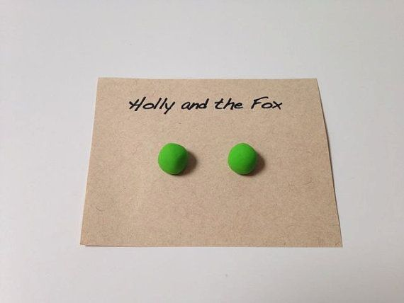 MOJITO Clay Bead Earrings