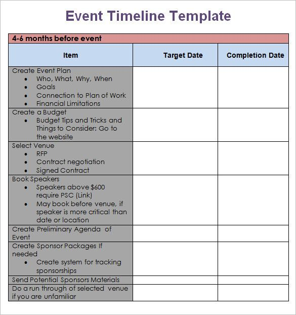 event planning timeline template fresh templates examples of timelines g in 2020 quotes