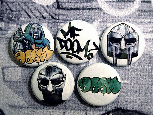 Check out this item in my Etsy shop https://www.etsy.com/listing/475066733/mf-doom-1-pinback-button-set-kmd