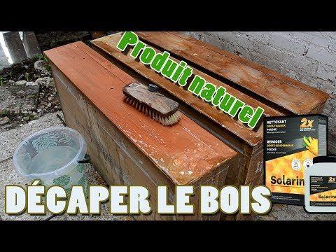 Enlever/Décaper le vernis du bois facilement et rapidement ...