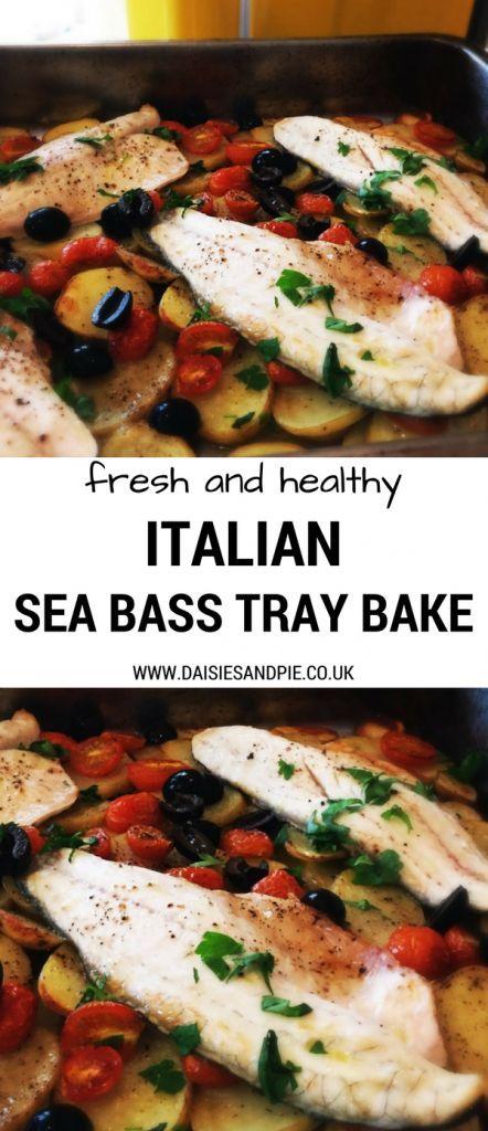 Sea Bass Tray Bake Recipe Pinterest Tray Bakes Dinners And