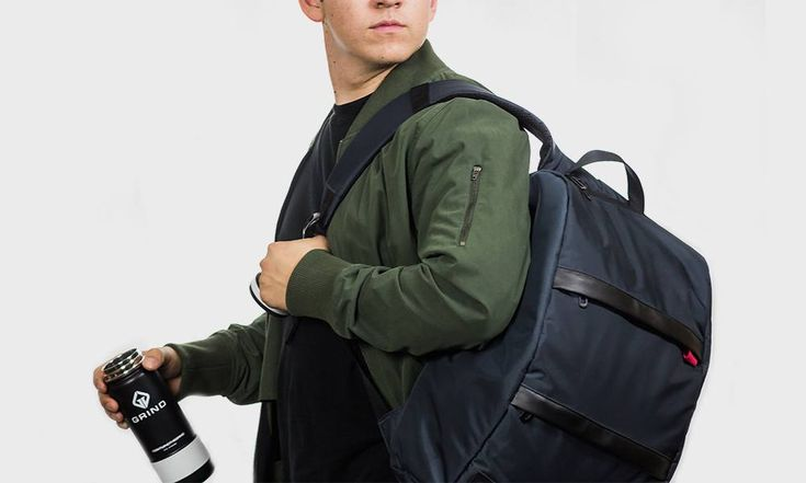Grind Makes Minimalist Backpacks and Water-Flasks