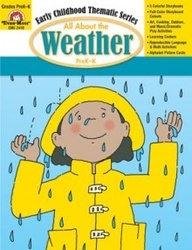 All About The Weather - Full-color stories and ready-to-use activities to teach #children about the weather.