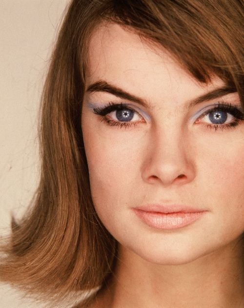 Jean Shrimpton: Purple Eyeshadows, 1960S Models, Vintage Fashion, Fashion Vintage, Beautiful Ii, 1960S Style, 60S Twin, Jeans Shrimpton, Blue Eyeshadows