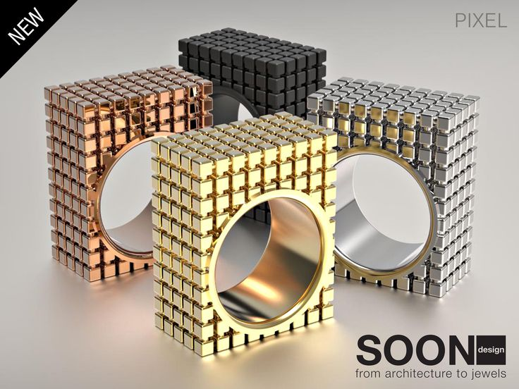 NEW PIXEL RING - available for sale http://www.shapeways.com/model/2994408/pixel-ring-size-7.html?li=shop-results&materialId=85