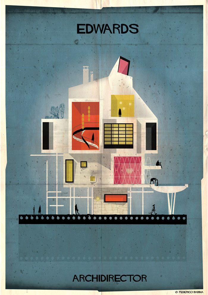 Gallery - ARCHIDIRECTOR: A Fantastical City Inspired by Famous Directors by Federico Babina - 17