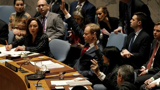 Press TV, Tuesday, Feb 28, 2017  Russia and China have vetoed a Western-proposed draft United Nations Security Council (UNSC) resolution against the Syrian government over its alleged use of chemical weapons.    The measure, drafted by Britain,