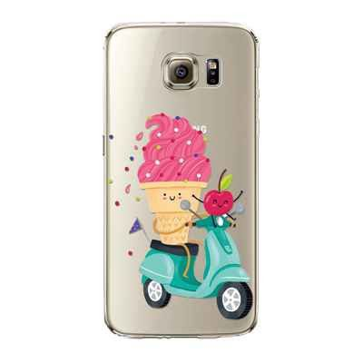 Foodies Icecream Cas De Tpu Pour Samsung Galaxy S7 aD3Tk