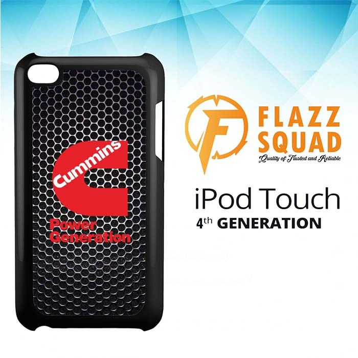 cummins Power Generation logo Z3884 iPod Touch 4 Case