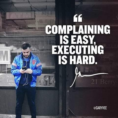 Most of what Gary Vee shares blows me away. This is no exception. This is the absolute truth here and all legit entrepreneurs will agree. Just do what is necessary, learn the skill set and execute your plan. There are no shortcuts!