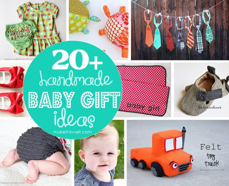 handmade baby gift ideas