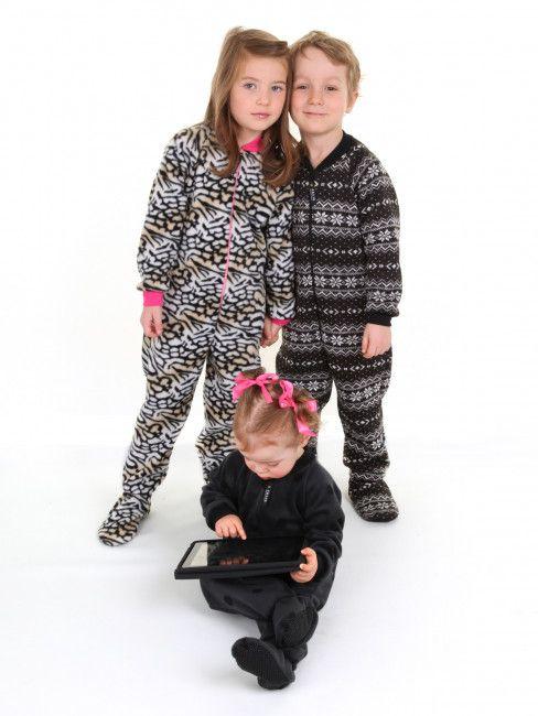 Jalie 3244 - Footed Pyjama for Children
