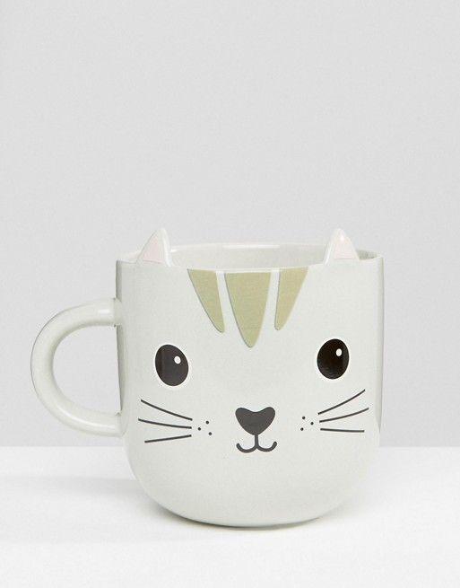 Sass & Belle | Taza con diseño de gato de Sass & Belle
