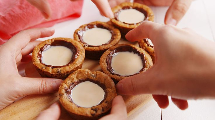 These Milk & Cookies Shots are nice on the outside and naughty on the inside.