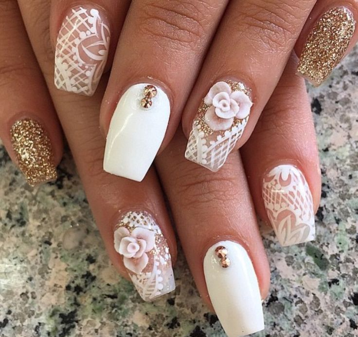 196 best Flowers Nail Art Designs images by Nail Art on Pinterest ...