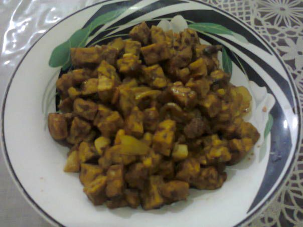 Tauco Tempe (dengan Pork/Babi)