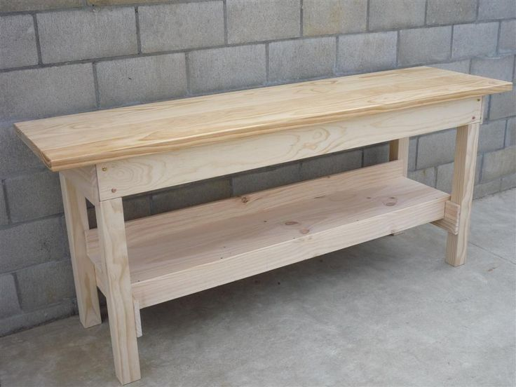 woodworking easy workbench plans with footrest - Workbench Design Ideas