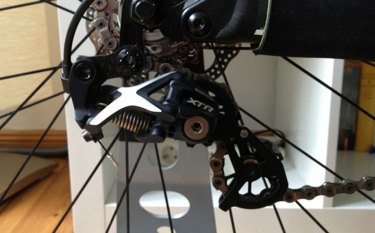 #Tuning-Laufbahn eines #Shimano #XTR Shadow RD-M972 Schaltwerkes | #mtb #outdoot #Mountainbike #howto