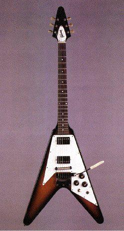 Jimi Hendrix 1969 Gibson Flying V (SN# 932954) used between 1/69 and 5/70