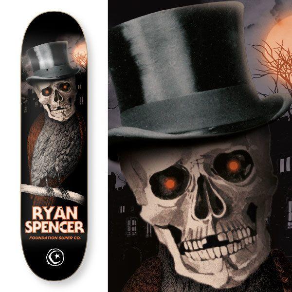 Foundation Skateboards Horror Series on Behance