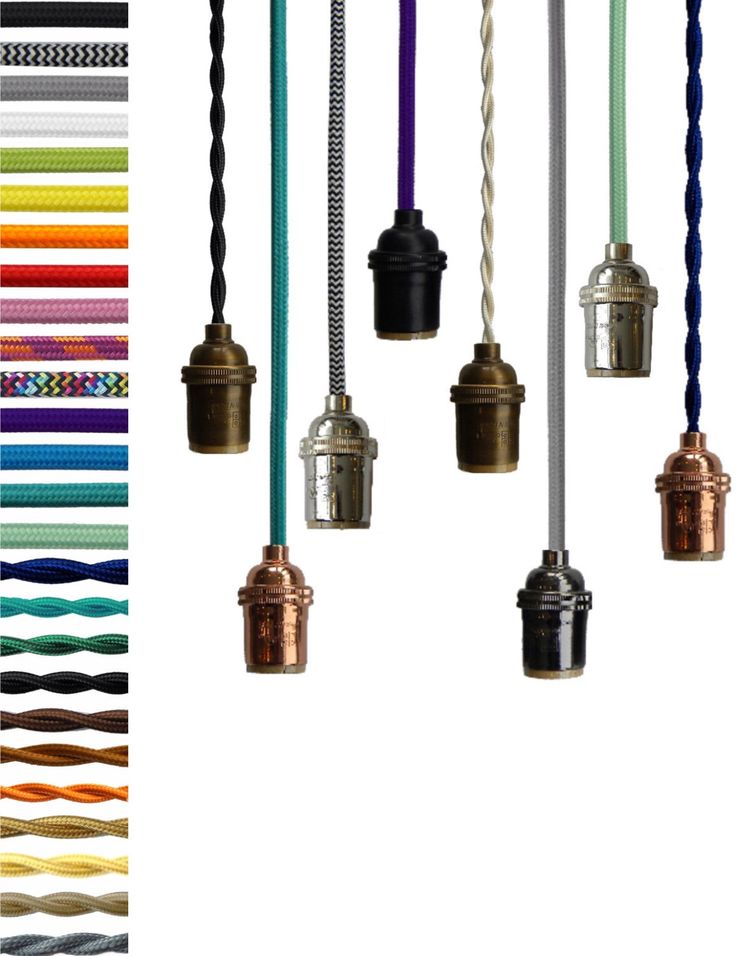 how to make a pendant light plug in