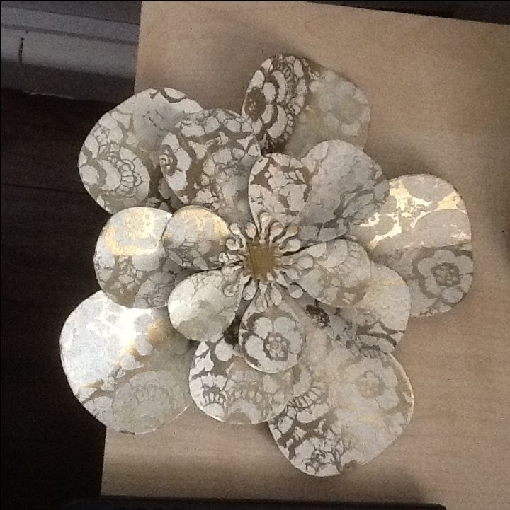9 Best Hand Crafted Paper Flowers Images On Pinterest