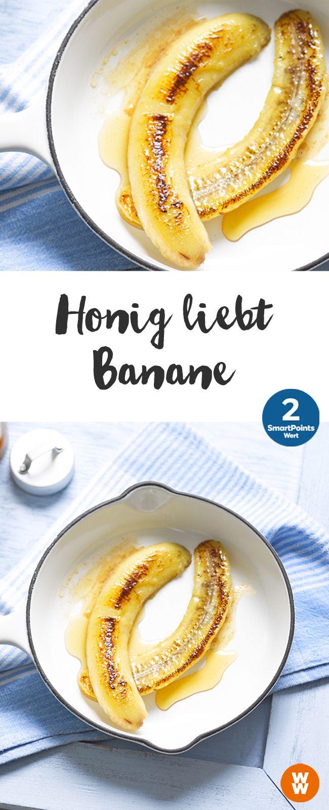 Honig liebt Banane | 2 SmartPoints/Portion, Weight Watchers, schnell fertig in 10 min.