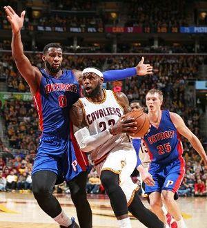 Pistons de Detroit humillan a LeBron y Cleveland   NOTICIAS AL TIEMPO