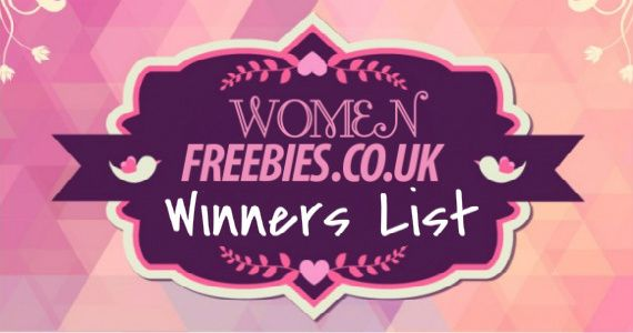 Check Out Our NEW #WomenFreebies #Winners List to See if You're a Winner!