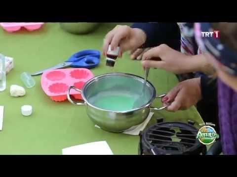 evde kolay sabun yapımı / satın alma kendin yap! - YouTube