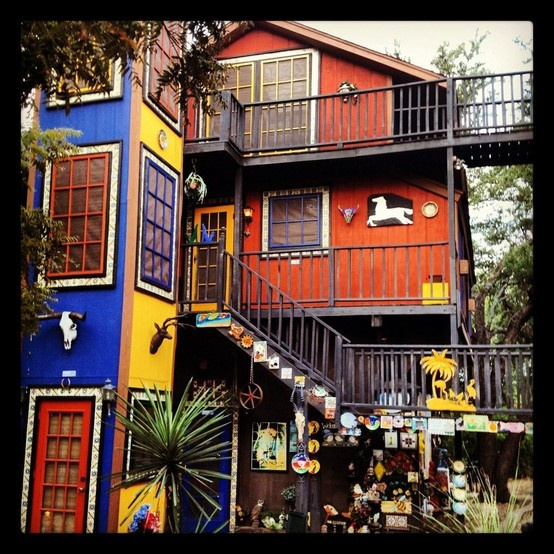 Casa Rio De Colores Liberty Hill Tx Texas Pinterest