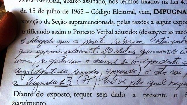 Folha Política: Em Rondônia, urna apresentou somente o número 13 quando os eleitores tentavam votar