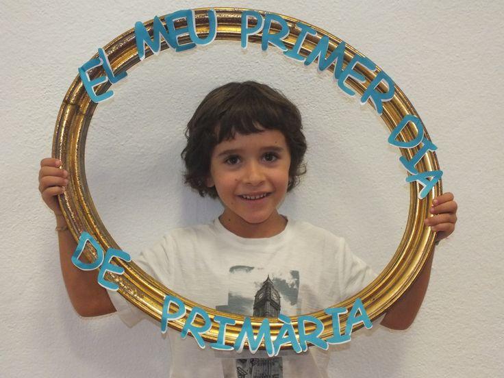 El meu primer dia de primària.