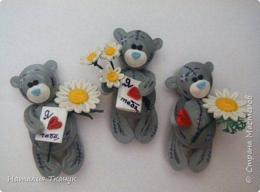 Сегодня я к вам с магнитиками . Ну какой же праздник любви без очаровательных мишек Тедди.
