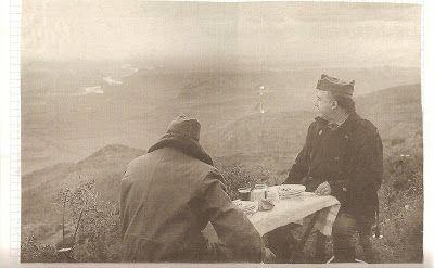 Francisco Franco en la Batalla del Ebro
