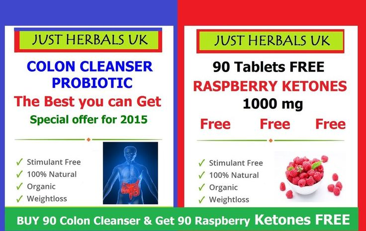 90 Raspberry Ketone FREE Plus 90Colon Cleanse Probiotic Weight Loss Diet Pills Best Selling twin pack