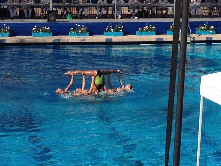 Informative speech on synchronized swimming