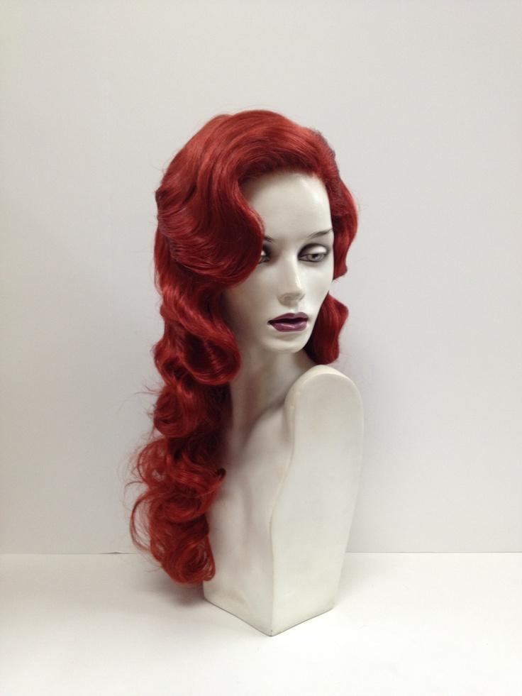 Finger Wave Long Hair 20s Wig Styles Pinterest Long