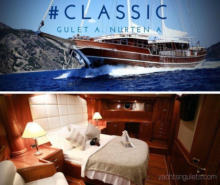A #Classic Turkish #Gulet #Charter - Great Choice for the #GreekIslands - Nurten A