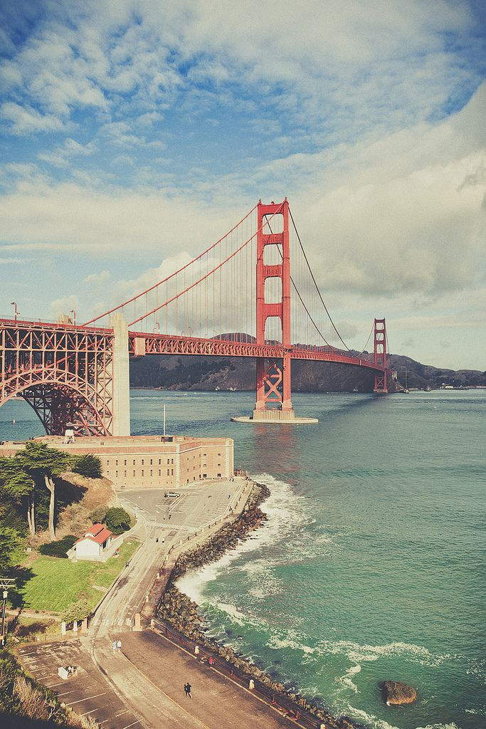 San Francisco - Golden Gate Bridge.