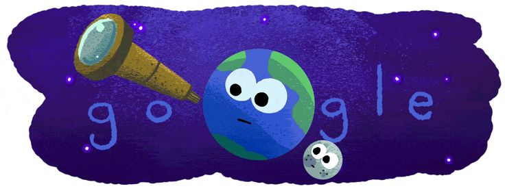 Google Celebrates of Seven New Planets With Stellar Doodle - This is so cute! I love the #GoogleDoodles