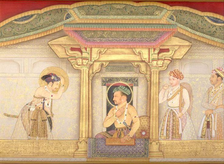 Jahangir at his Court
