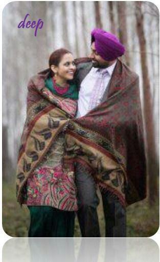 Indian Sikh Punjabi couple